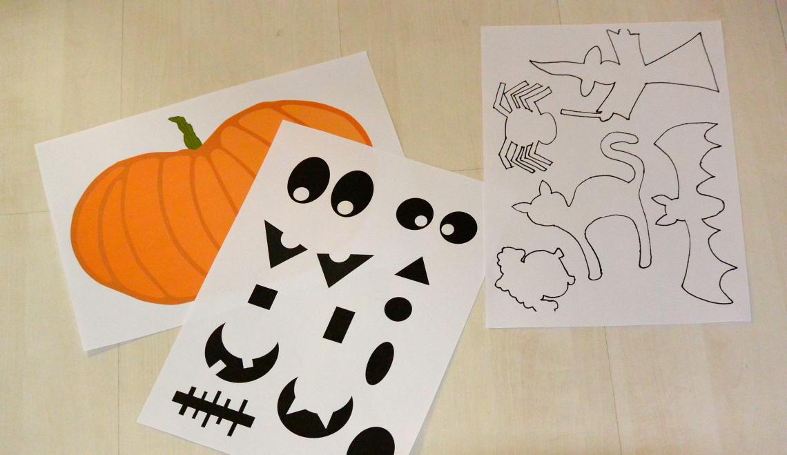 halloween party deko und basteln my mom design. Black Bedroom Furniture Sets. Home Design Ideas