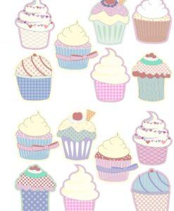 Muffin_Pastell_Wandtattoo