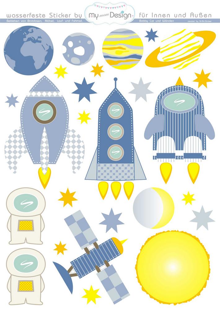 Kinderzimmer deko planeten for Kinderzimmer weltall